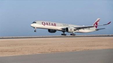 Photo of بسبب أحد الركاب .. طائرة ركاب قطرية تهبط اضطراريا في تركيا