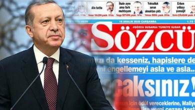 Photo of صحيفة تركية شهيرة تثير غضب الأتراك و أردوغان يعلق