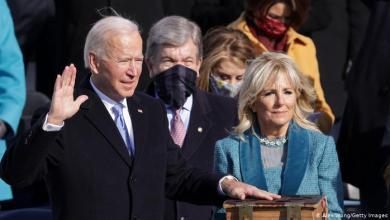 Photo of بايدن يؤدي القسم رئيسا جديدا للولايات المتحدة