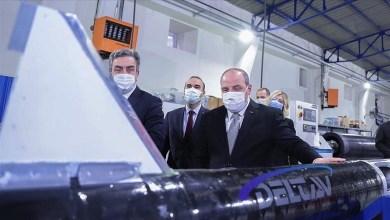 """Photo of وزير الصناعة التركي يزور منشأة """"Delta V"""" لتكنولوجيا الفضاء"""