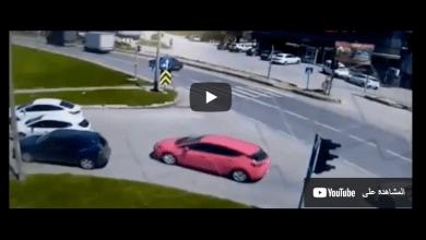 Photo of لحظة سحق شاحنة لسيارة في ولاية تركية ووفاة السائق