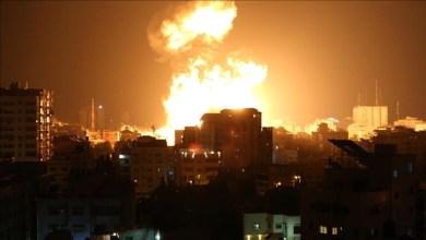 Photo of 160 طائرة أطلقت 450 صاروخًا على 150 هدفًا ليلة أمس شمالي غزة