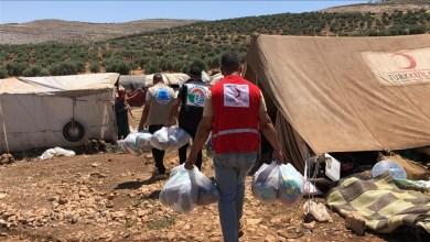 Photo of جمعية تركية توزع ملابس على محتاجين في عفرين السورية
