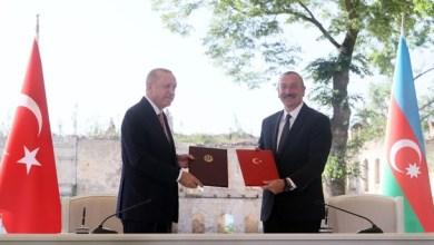 "Photo of أردوغان: مستقبل أفضل لمنطقة القوقاز مع ""إعلان شوشة"" وممر ""زنغزور"""