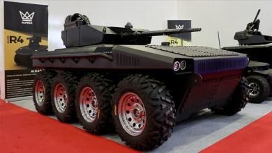 "Photo of ""ألكار R8 "".. أول مركبة دفاعية كهربائية ذاتية القيادة بتركيا"