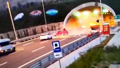 Photo of حــادث مــأســـاوي على طريق مرمرة الشمالي السريع تم تصويره على الكاميرا
