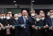 "Photo of أردوغان يفتتح المقر الجديد لفرع ""العدالة والتنمية"" بولاية قرشهير"