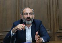 Ermənistanın baş naziri Nikol Paşinyan