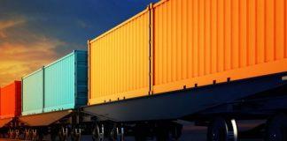 konteyner qatarı