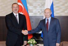 Prezident İlham Əliyev Vladimir Putini təbrik edib