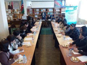 """""""Sağlam Yaşa"""" GMİB – Qax rayonunda tədbir keçirib"""