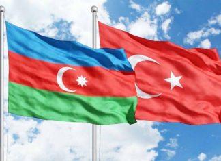 Azərbaycan Türkiyə bayraqları