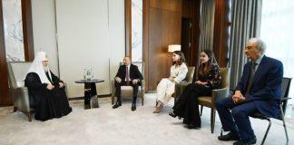 Azərbaycan Prezidenti Moskvanın və Bütün Rusiyanın Patriarxı Kirill