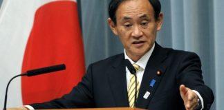 Yaponiya Nazirlər Kabinetinin baş katibi Yoşihide Suqa