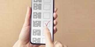 mobil cihaz vasitəsilə seçki sistemi