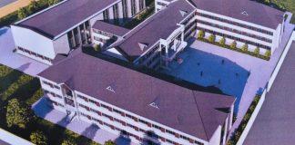 Qubanın Zərdabi qəsəbəsində yeni məktəb binasının tikintisi