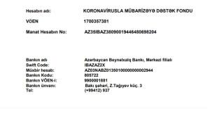 Koronavirusla Mübarizəyə Dəstək Fondu