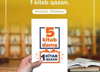 """""""5 kitab danış, 1 kitab qazan"""""""