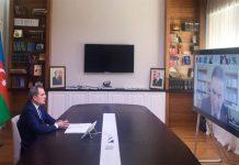 Təhsil naziri Ceyhun Bayramov ali təhsil müəssisələrinin rəhbərləri ilə yaz imtahan sessiyasının başlanması ilə bağlı videogörüş keçirib