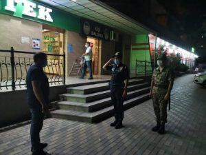 Bakı polisi koronavirusla bağlı gecə reydi