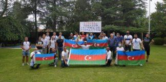 İspaniyada Azərbaycana dəstək aksiyası keçirilib