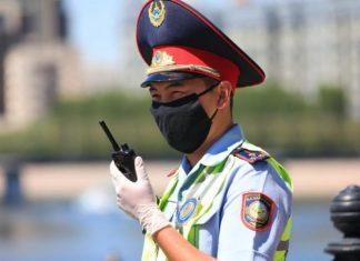 Qazaxıstan polisi