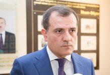 Azərbaycan Respublikasının Xarici İşlər naziri Ceyhun Bayramov
