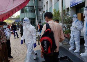 Hindistanda koronavirusa yoluxanlar
