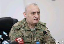 Müdafiə Nazirliyinin Beynəlxalq hərbi əməkdaşlıq idarəsinin rəisi, general-mayor Hüseyn Mahmudov