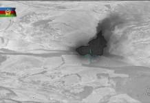 Düşmənin raket-artilleriya silahları anbarı məhv edilib
