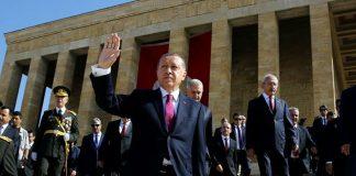 Türkiyə Prezidenti Respublika Günü münasibətilə Anıtqəbiri ziyarət edib