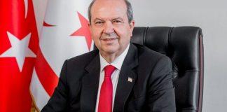 Şimali Kipr Türk Respublikasının prezidenti Ersin Tatar