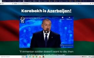Azərbaycanlı hakerlər Ermənistanın rəsmi saytlarını məhv etdi