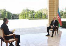 Azərbaycan Prezidenti İlham Əliyevin CNN-Türk televiziyasına müsahibəsi