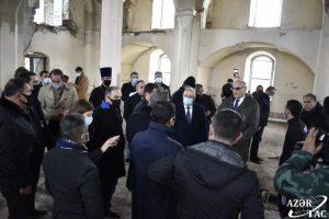 Diplomatik korpusun nümayəndələri Ağdamda Ermənistan silahlı qüvvələrinin törətdikləri vəhşiliklərin şahidi olublar