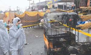 Pakistanda partlayış baş verib, çox sayda xəsarət alan var