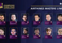 """""""Airthing Masters"""" turniri"""