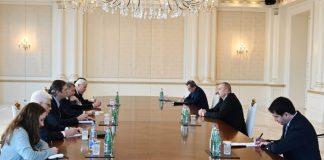 Prezident İlham Əliyev ATƏT-in Minsk qrupunun Fransadan və ABŞ-dan olan həmsədrlərini qəbul edib