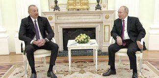 Azərbaycan Prezidenti İlham Əliyev və Rusiya Prezidenti Vladimir Putin