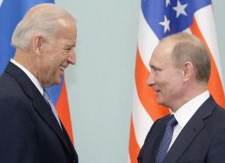 Rusiya Federasiyasının Prezidenti Vladimir Putin və ABŞ Prezidenti Cozef Bayden