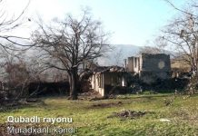 Qubadlı rayonunun Muradxanlı kəndi