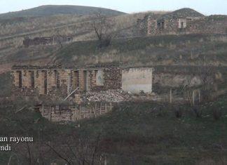 Zəngilan rayonunun Tiri kəndindən videogörüntülər