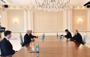 rezident İlham Əliyev Türkiyənin Milliyətçi Hərəkat Partiyasının sədr müavinini qəbul edib