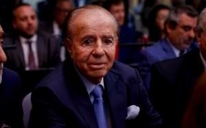 Argentinanın eks-prezidenti Karlos Menem