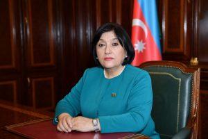 Azərbaycan Respublikası Milli Məclisinin sədri Sahibə Qafarova