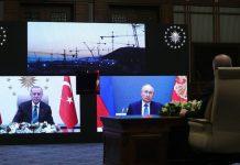"""Türkiyədə """"Akkuyu"""" AES-in üçüncü reaktorunun təməlqoyma mərasimi keçirilib"""
