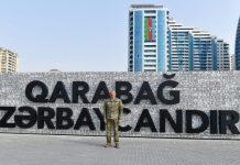 Prezident İlham Əliyev Bakıda Hərbi Qənimətlər Parkının açılışında iştirak edib