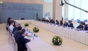 Prezident İlham Əliyev ADA Universitetində keçirilən