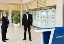 """Prezident İlham Əliyev yenidən qurulan """"Hövsan"""" və """"Maştağa"""" yarımstansiyalarının açılışını edib"""