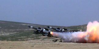 Zenit-Raket Qoşunlarında döyüş atışlı təlimlər keçirilib